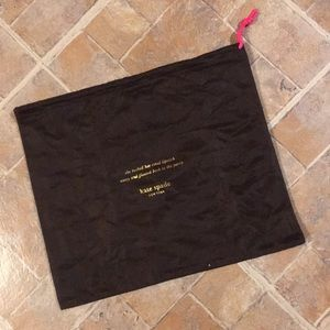 Kate Spade dust bag 13 inches by 11 inches